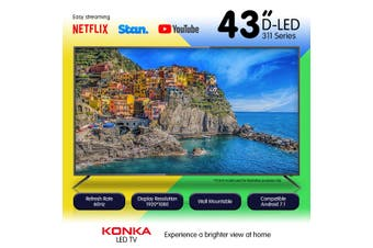 Konka 43in 311 Series KDE43M0311AN L.E.D TV