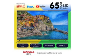 Konka 65in 311 Series UDE65MP311AN Ultra HD L.E.D TV