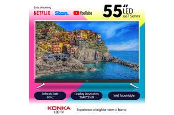 Konka 55in 667 Series UDL55MP667ANT UHD L.E.D TV