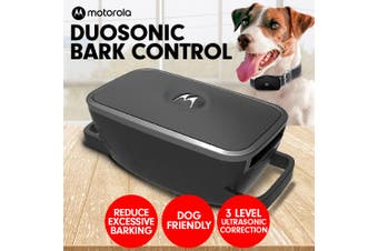 Motorola Duosonic Bark Control Collar 200U - Black