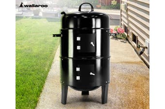 Wallaroo 3-in-1 Charcoal BBQ Smoker