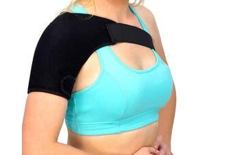 Shoulder Compression Bandage Sports Support Protector Brace Strap Wrap
