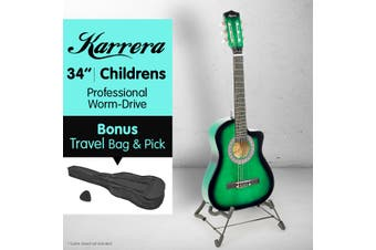 Karrera Childrens Acoustic Guitar Kids - Green