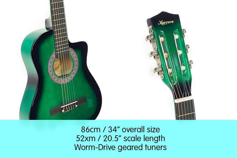 Karrera Childrens Acoustic Guitar Kids - Green