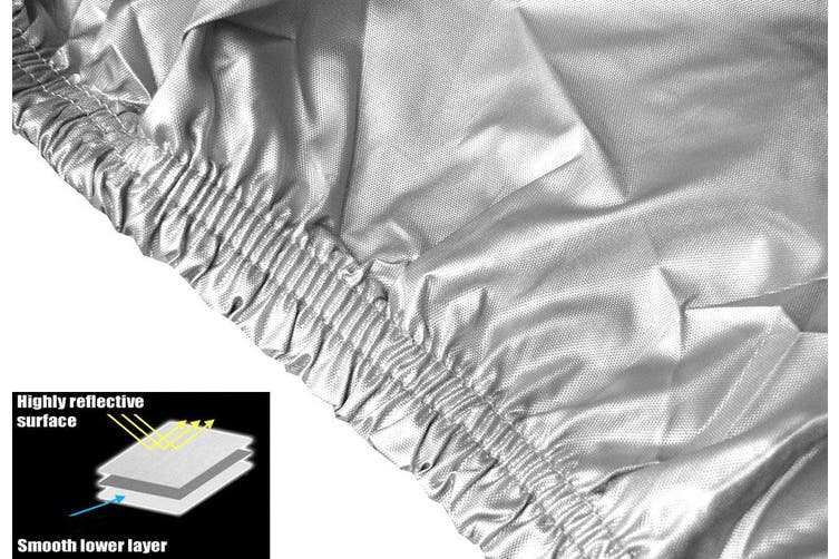 Caravan Cover with zip suits 10-13 ft
