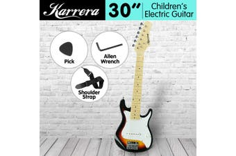 Karrera Childrens Electric Guitar Kids - Sunburst