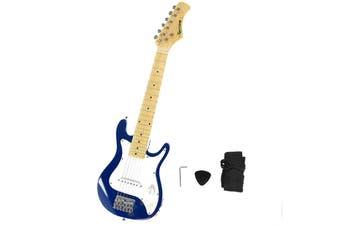 Karrera Electric Childrens Kids Guitar - Blue