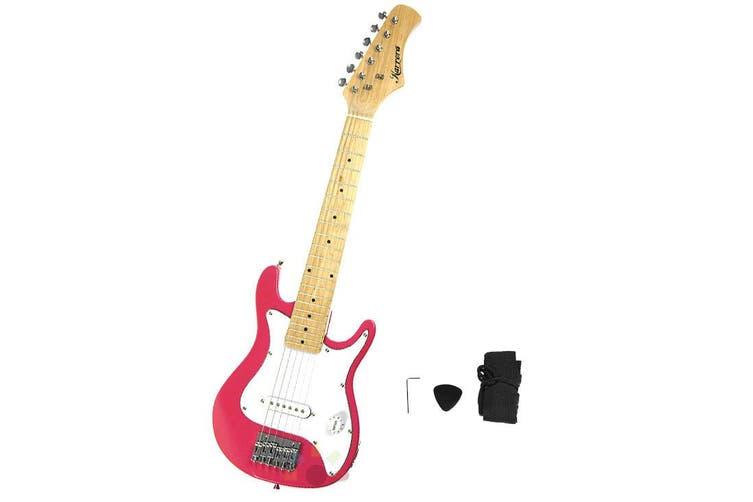 Karrera Electric Childrens Guitar Kids - Pink