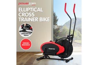 PowerTrain Elliptical Cross Trainer Exercise Bike Workout Equipment