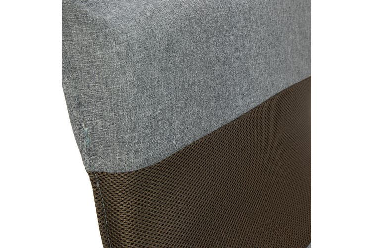 Adjustable Floor  Lounge Chair 98 x 46 x 19cm - Light Grey