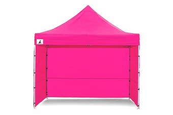 Gazebo Tent Marquee 3x3 PopUp Outdoor Wallaroo Pink