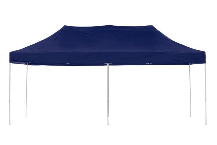 Gazebo Tent Marquee 3x6m PopUp Outdoor Wallaroo Blue