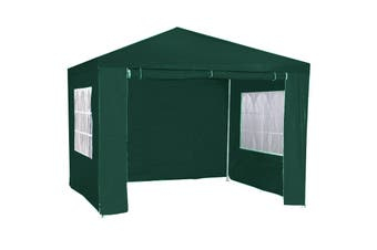 3x3m Wallaroo Outdoor Party Wedding Event Gazebo Tent - Green