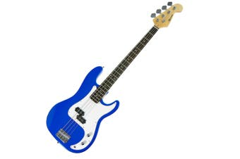 Karrera Electric Bass Guitar Pack - Blue