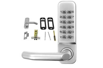 Push Button Digital Combination Security Door Lock