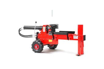 Yukon Petrol Log Splitter Wood Cutter 15 Ton