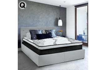 Laura Hill Premium Queen Mattress with Euro Top Layer - 32cm