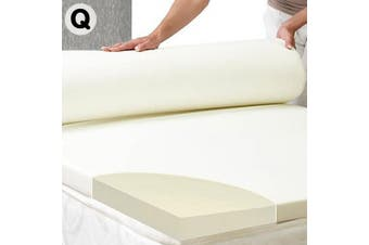 Laura Hill High Density Mattress foam Topper 7cm - Queen