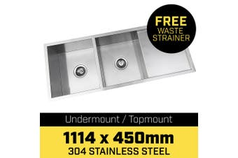 304 Stainless Steel Sink - 1114 x 450mm