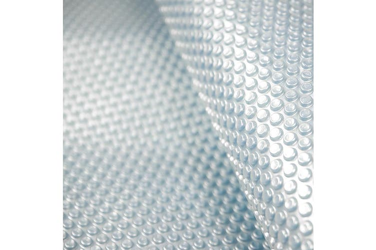 500mic Solar Swimming Pool Cover Silver/Blue - 11m x 4.8m