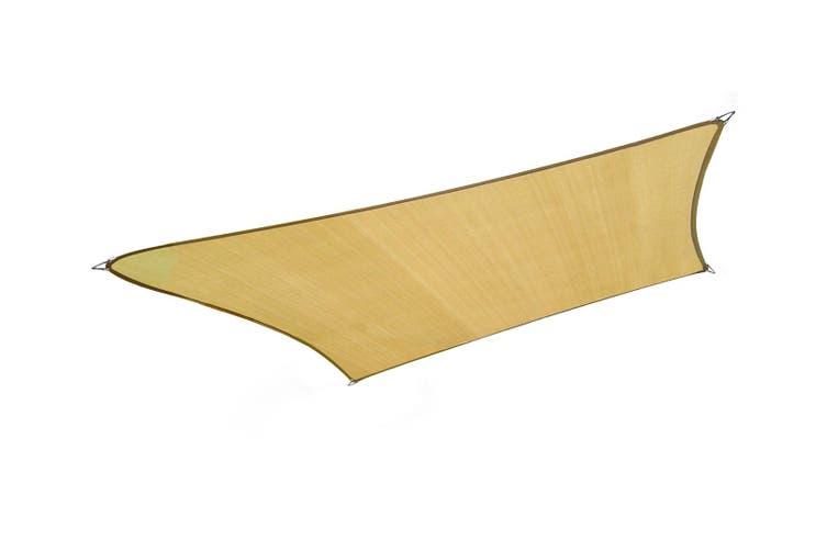 Wallaroo Rectangular Shade Sail 7m x 6m - Sand
