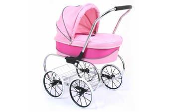 Valco Baby Princess Doll Stroller - Hot Pink