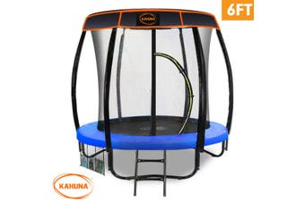 Kahuna Trampoline 6ft with  Roof - Blue