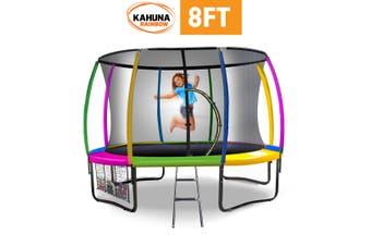 Kahuna Rainbow 8ft Trampoline