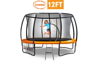Kahuna 12 ft Trampoline Outdoor Spring Pad Mat Net
