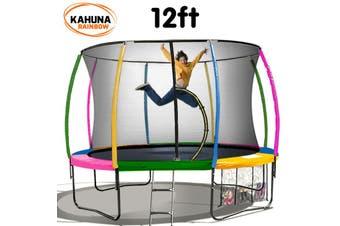 Kahuna Rainbow 12ft Trampoline
