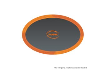 8ft x14 ft Oval Trampoline Replacement Safety Spring Pad Round Cover