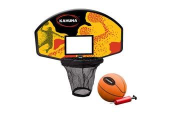 Trampoline Basketball Backboard Hoop Set