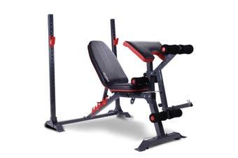 Powertrain Home Gym Bench Press Incline Decline Preachers Curl