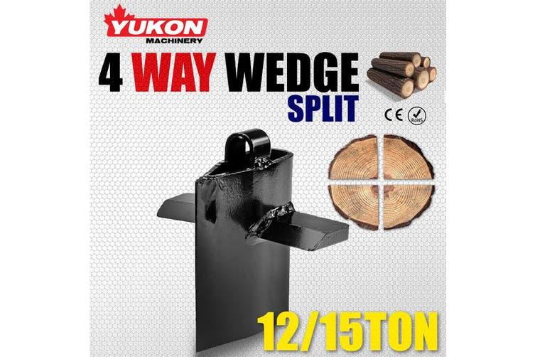 Yukon 4-Way Cross Cut Log Splitter Wedge 12T-15T