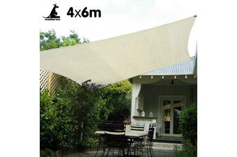 Waterproof Shade sail 4x6 160GSM