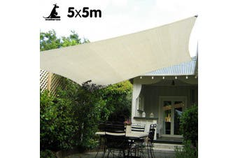 Waterproof Shade sail 5x5 160 GSM