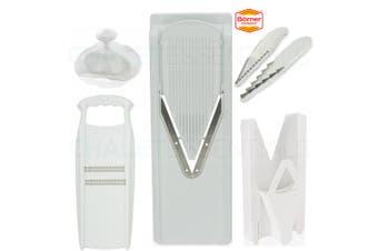 New V Slicer BORNER V3 & Multi Box & 3 Blade Insert & Safety Hat & Roko German