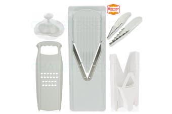 New V Slicer BORNER V3 & Multi Box & 3 Blade Insert & Safety Hat & Rosti German