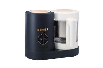 BEABA BABYCOOK NEO FOOD PROCESSOR STEAM COOK BLEND DEFROST NIGHT BLUE