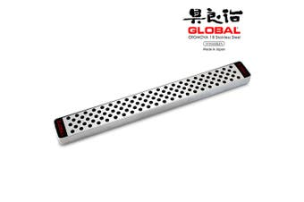 NEW 79573 GLOBAL Stainless Steel 41cm Magnetic Knife Rack Kitchen Knives
