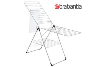 BRABANTIA 20 Metre T-Model 09022 Laundry Clothes Dryer Airer Rack Hanging Stand Grey