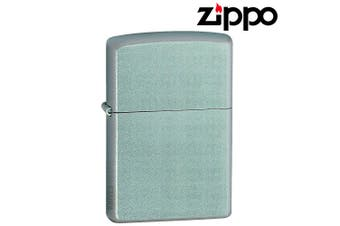 New Genuine ZIPPO Lighter 205 Satin Chrome Silver Free Shipping