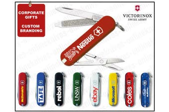 SWISS ARMY KNIFE CLASSIC VICTORINOX PERSONALISED CUSTOM BRANDING PROMO YOUR LOGO