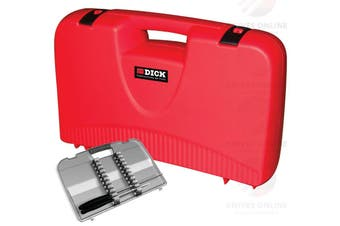 NEW F DICK CHEFS COOK LOCKABLE KNIFE CARRY CASE RED FDICK FREE SHIPPING