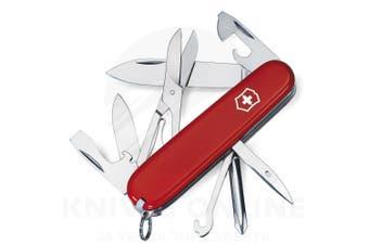 NEW SWISS ARMY KNIFE SUPER TINKER VICTORINOX 35696 MULTI-TOOL POCKET KNIFE