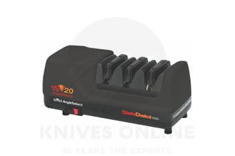 NEW Chef's Choice 1520 BLACK AngleSelect Diamond Hone Electric Knife Sharpener AUS STOCK