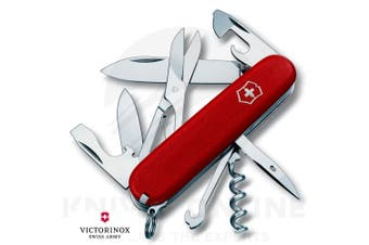 VICTORINOX SWISS ARMY CLIMBER MULTI TOOL KNIFE - RED