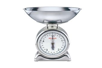 SOEHNLE SILVIA ANALOGUE KITCHEN SCALE W/ STAINLESS STEEL WEIGHING BOWL