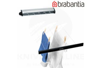 BRABANTIA STAINLESS INDOOR 22M RETRACTABLE CLOTHES LINE PULL OUT AIRER 09029