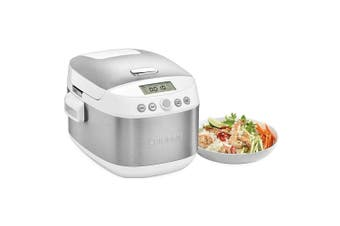 NEW CUISINART SUPERGRAINS & RICE MULTI COOKER 10 CUP